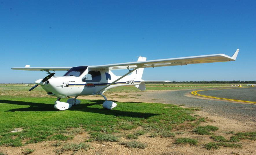 Cliff Banks' trusty Jabiru